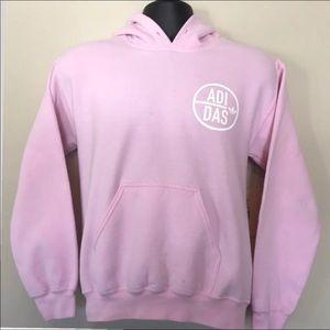 Pink Adidas Back Again Hoodie